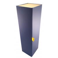 Pudełko na Alkohol - kolor Niebiesko-Złoty