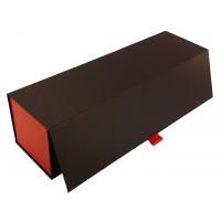 Pudełko na Alkohol - kolor Czarno-Czerwony